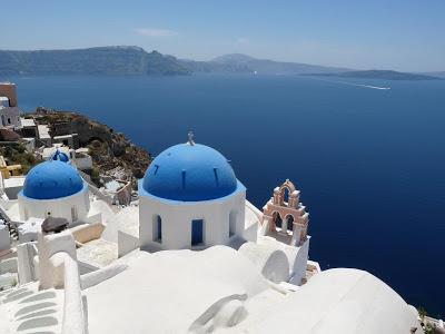 Santorini: paraíso azul y blanco