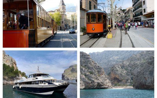 Vuelta Isla: Mallorca en tren, tranvía y barco