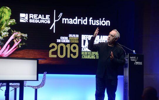 Madrid Fusión...o Adriá cogió su fusil