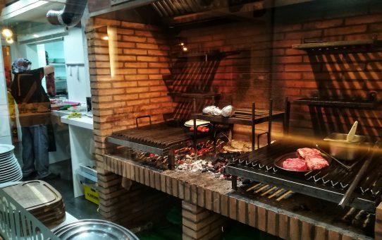 """Tango Restaurante Madrid : """"toda la carne en el asador"""""""