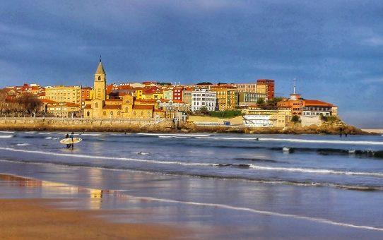 Gijón: respirando el Cantábrico