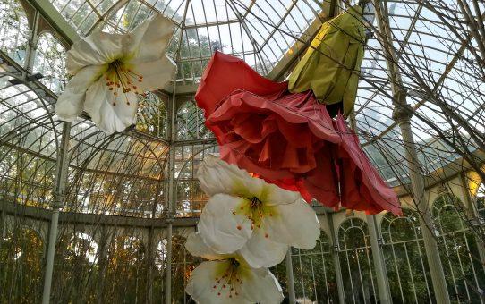 Flores para el amor en el Parque del Retiro