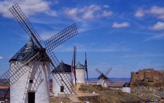 La Ruta de los Molinos de Viento en La Mancha