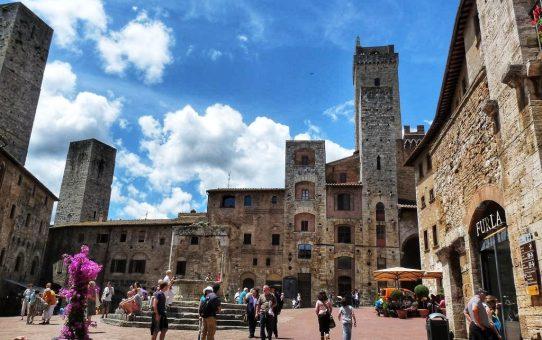 San Gimignano, Nueva York en la Edad Media